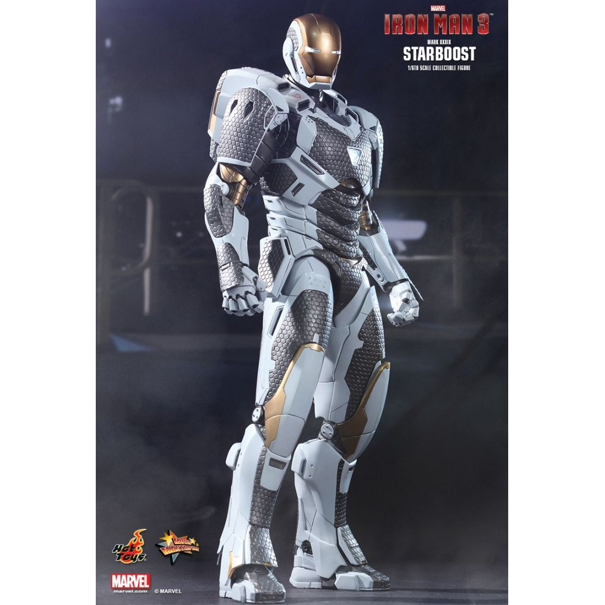Iron Man Mark XXXIX Starboost - Escala 1/6 - Hot Toys