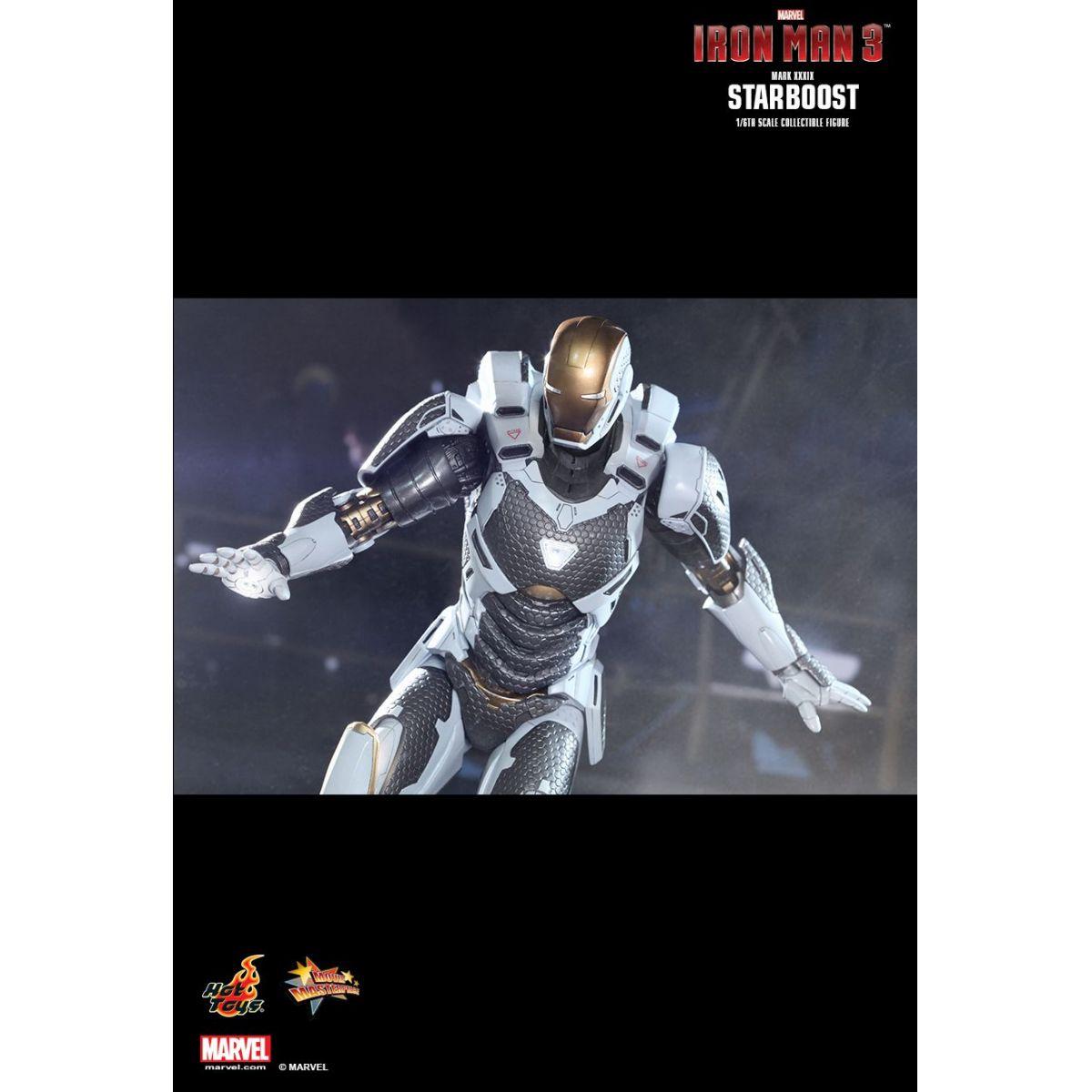 Iron Man Mark XXXIX Starboost - Escala 1/6 - Hot Toys