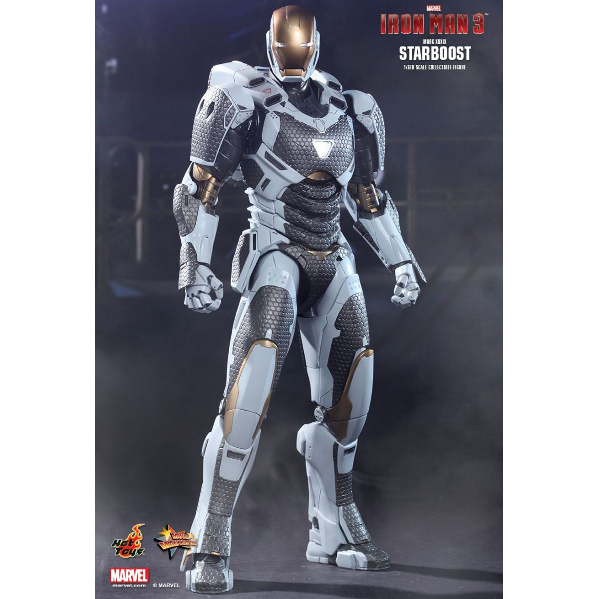 Iron Man (Homem de Ferro) Mark XXXIX Starboost Escala 1/6 - Hot Toys