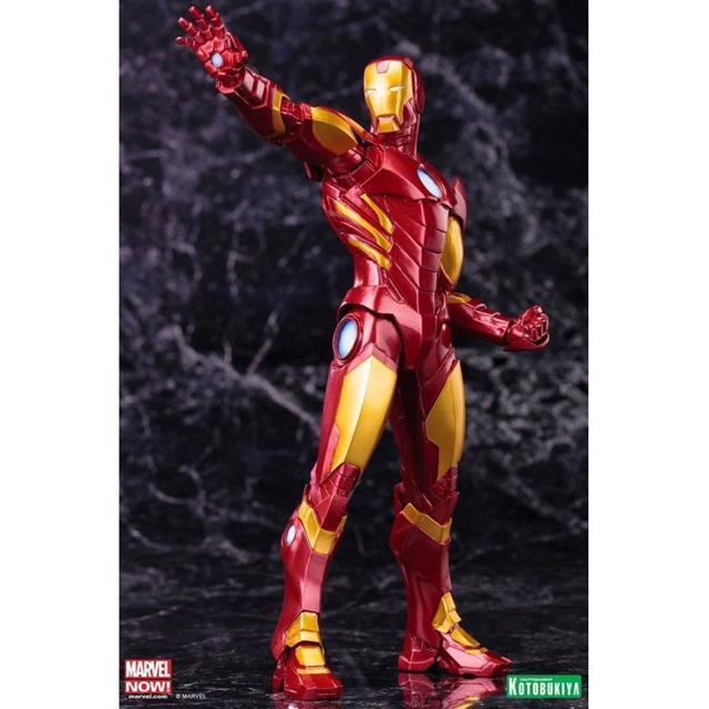 Iron Man Red ArtFX+ Statue - Kotobukiya  - Toyshow Colecionáveis