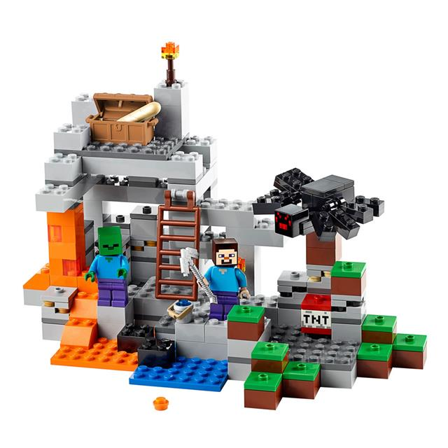 LEGO Minecraft Creative Adventure - A Caverna