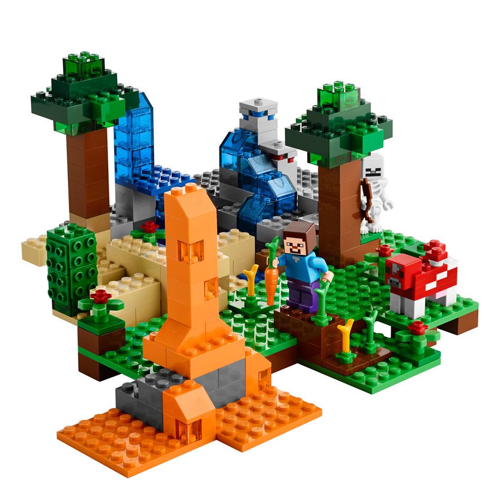 LEGO Minecraft Creative Adventure - Caixa Criativa  - Toyshow Colecionáveis