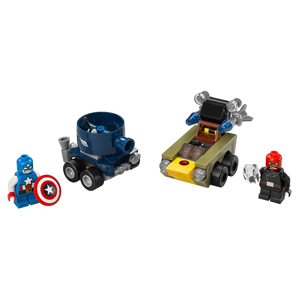 LEGO Super Heroes Marvel - Poderosos Micros: Capitão América contra Caveira Vermelha