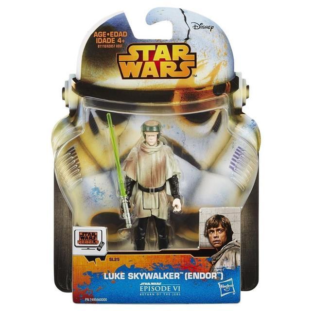 Luke Skywalker (Endor) Star Wars Rebel - Hasbro  - Toyshow Colecionáveis