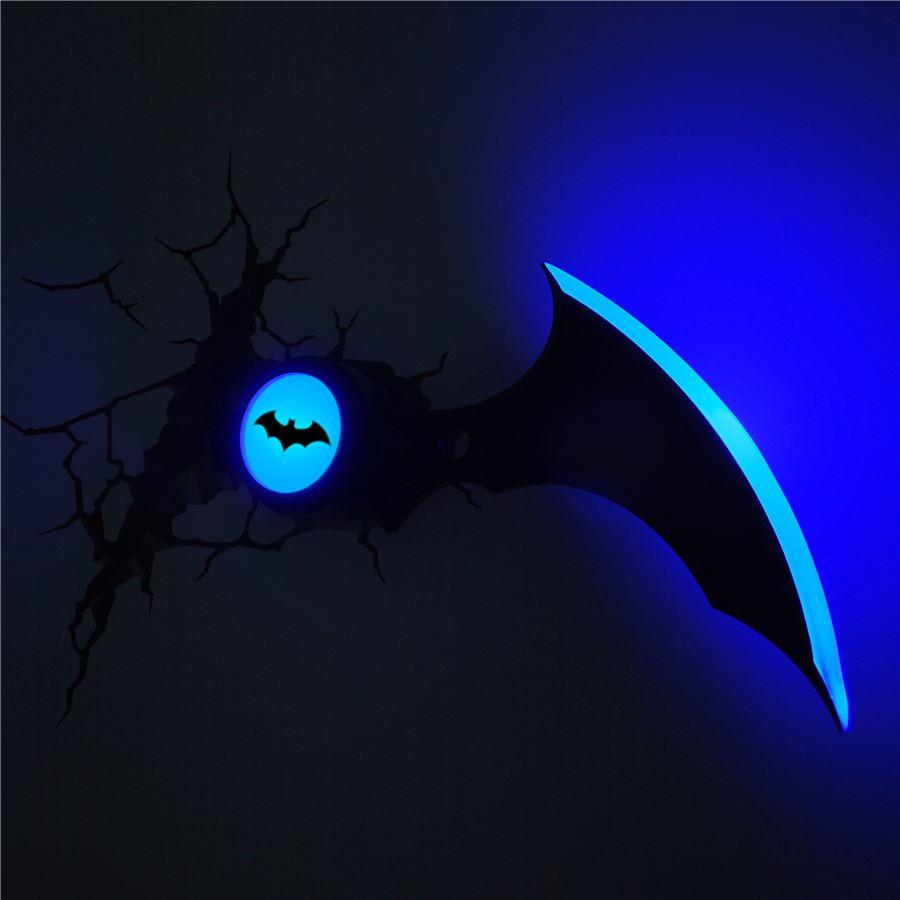 Luminária Batarang - 3D ligtht FX