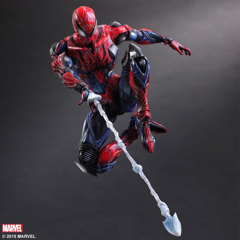 Marvel Universe Variant Spider Man - Play Arts Kai  - Toyshow Colecionáveis