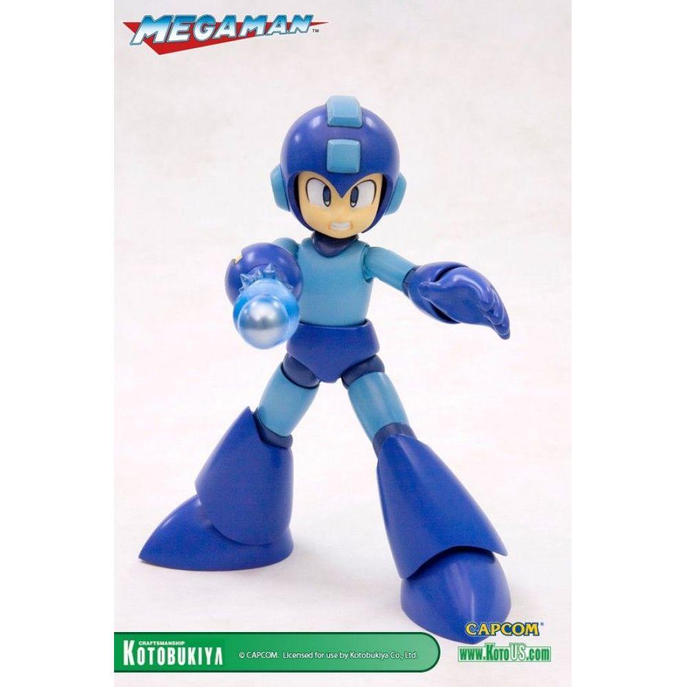 Mega Man Plastic Model Kit - Kotobukiya (Produto Exposto)  - Toyshow Colecionáveis