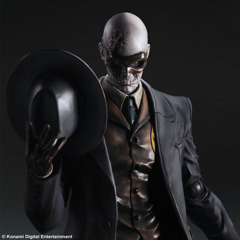 Metal Gear Solid 5 Skull Face - Play Arts Kai  - Toyshow Colecionáveis