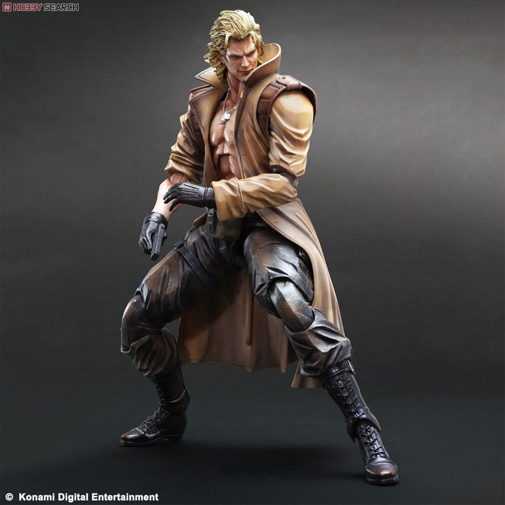 Metal Gear Solid Liquid Snake - Play Arts Kai