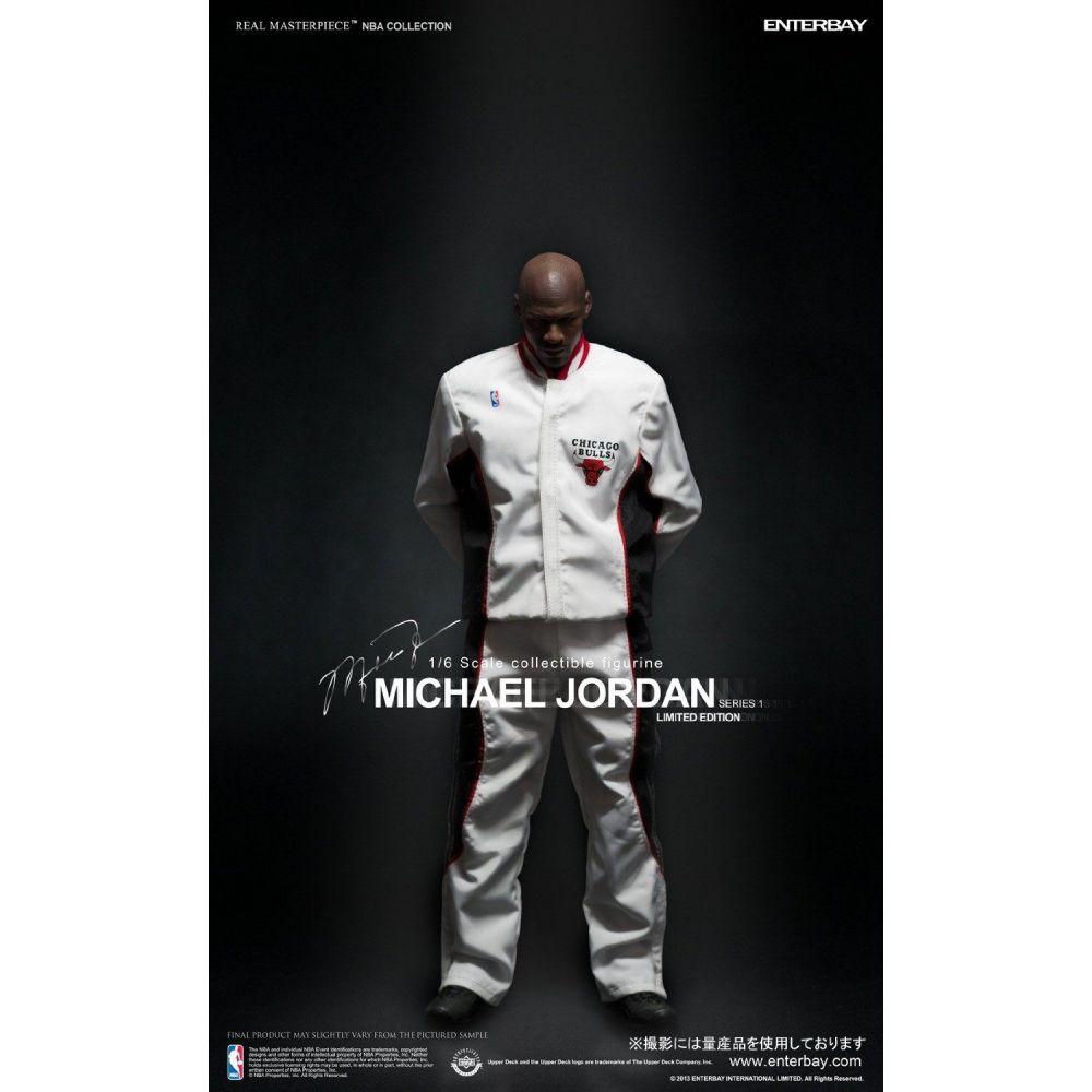 "Michael Jordan Serie 1 ""Im Back"" #45 Home Version Limited Edition NBA Classic Collection - Enterbay EPP  - Toyshow Colecionáveis"
