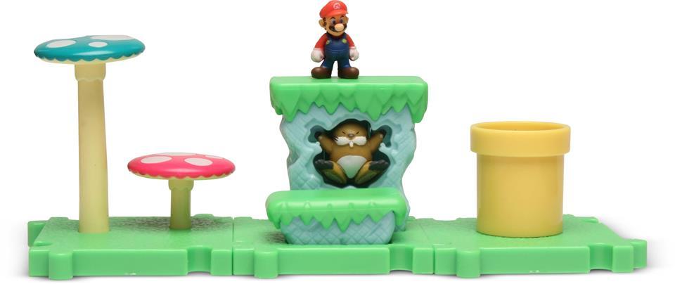 Micro Land Super Mário Ilha e Personagens: Mario - DTC  - Toyshow Colecionáveis