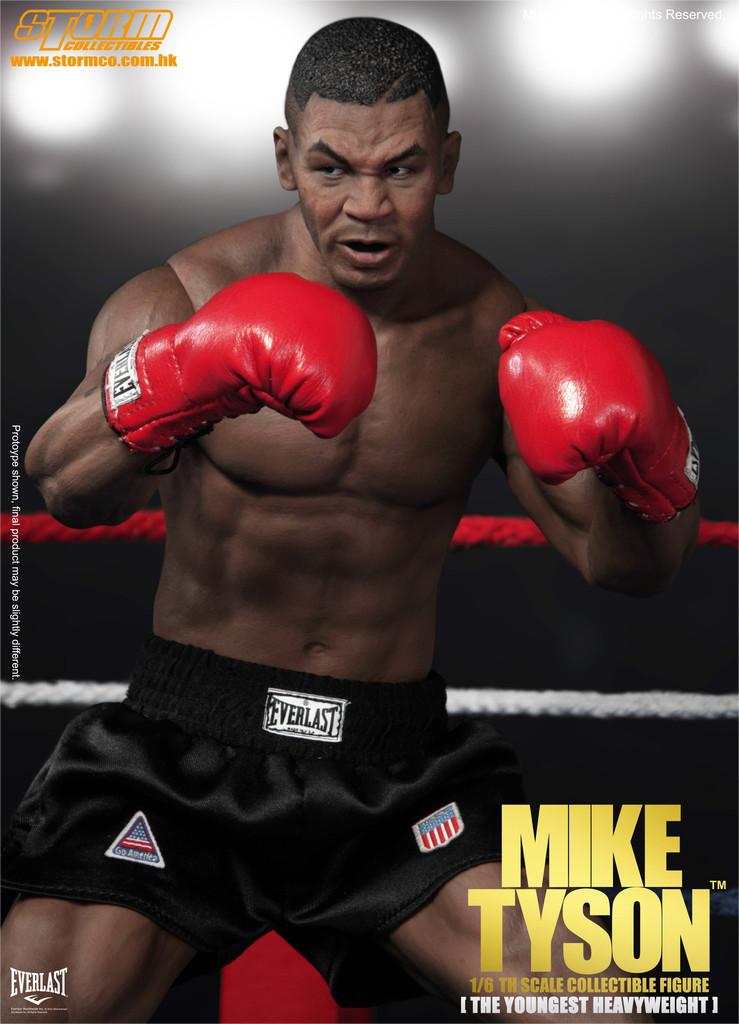 Mike Tyson SM-1501 Escala 1/6 - Storm Collectibles  - Toyshow Colecionáveis