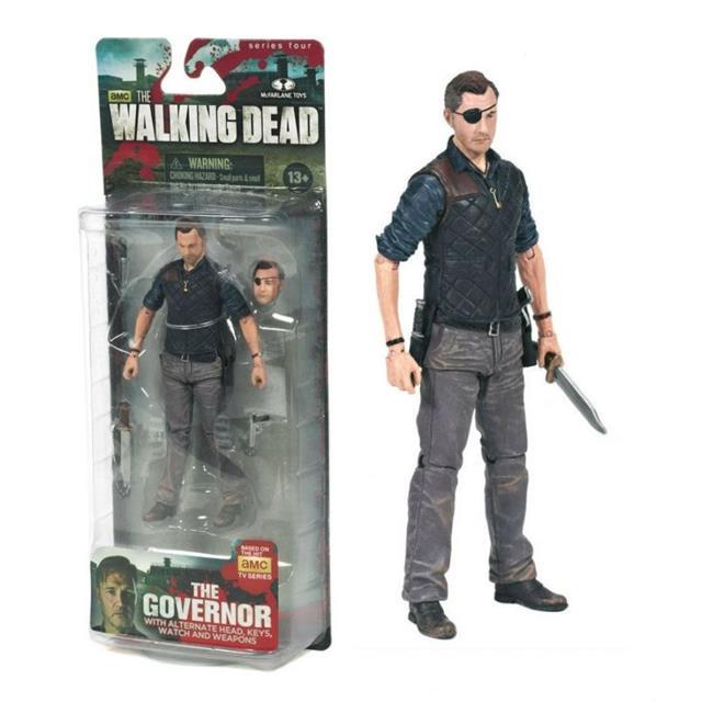 O Governador The Walking Dead - McFarlane