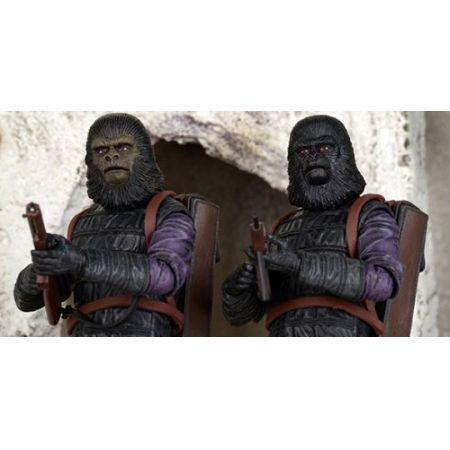 Planeta dos Macacos: Gorilla Soldier e Infantry 2 Pack - Neca  - Toyshow Colecionáveis