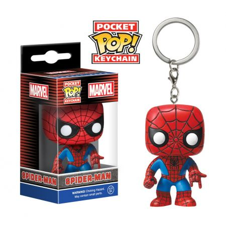 Pocket Pop! Keychains Spider Man - Funko  - Toyshow Colecionáveis