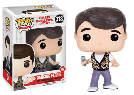 POP! Curtindo a vida adoidado: Ferris Bueller (Dançando) #318 - Funko