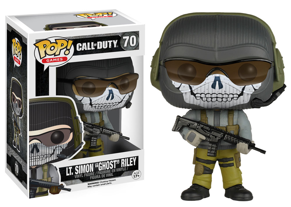 Pop! Games Call Of Duty: Ghost - Funko
