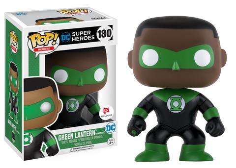 Pop Lanterna Verde (John Stewart): DC Super Heroes (EXCLUSIVO) #180 - Funko