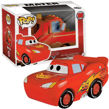 Pop Lightining McQueen: Disney Carros #128 - Funko