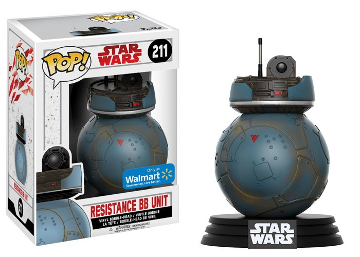 Pop Resistance BB Unit: Star Wars: Os Últimos Jedi (The Last Jedi) #211 - Funko (Apenas Venda Online)