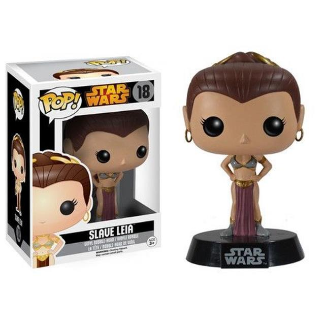 Pop Slave Leia: Star Wars #18 - Funko