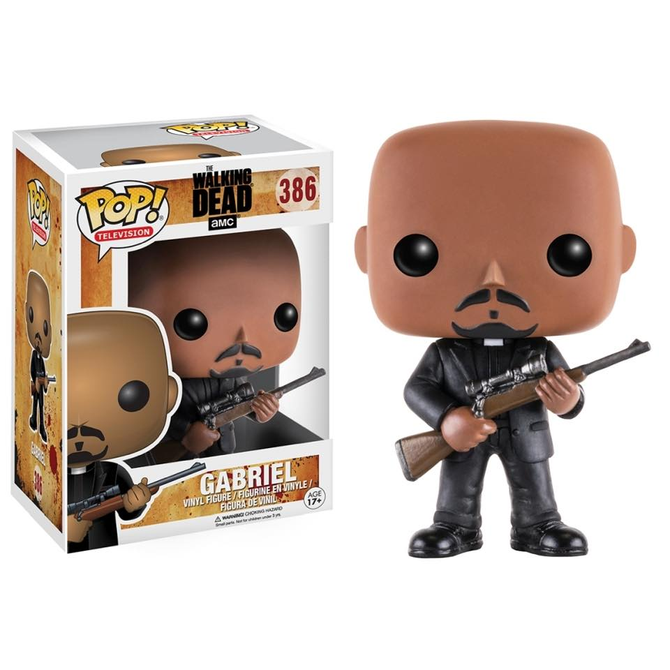 EM BREVE: POP! The Walking Dead: Gabriel #386 - Funko