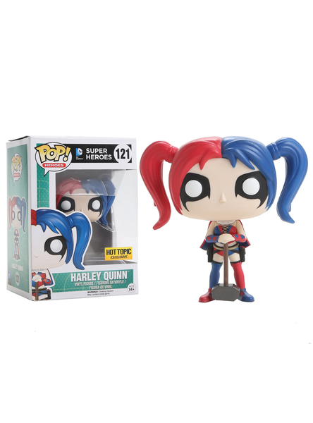 POP! Heroes: Harley Quinn New 52 (Novos 52) #121 - Funko (EXCLUSIVO)