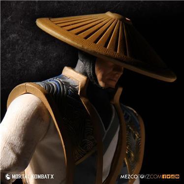 Raiden Mortal Kombat Figures 3.75 - Mezco  - Toyshow Colecionáveis