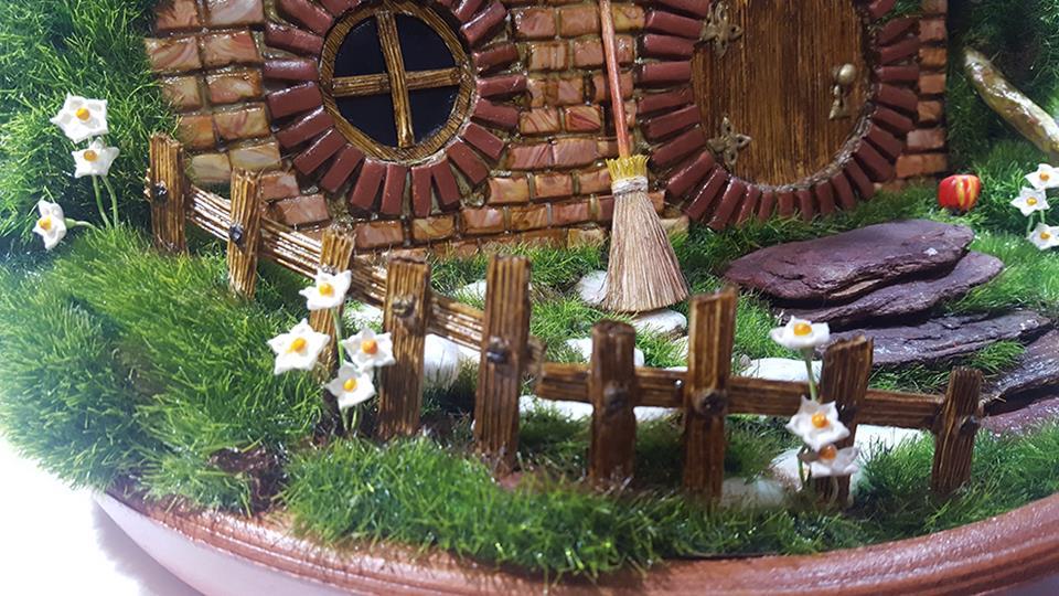 Réplica Casa Hobbit: A Toca  - Toyshow Colecionáveis