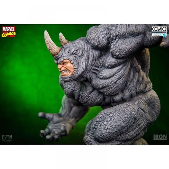 Rhino 1/10 - Iron Studios  - Toyshow Colecionáveis