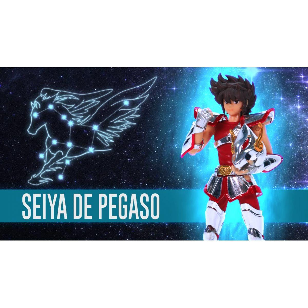 (Os Cavaleiros do Zodíaco) Saint Seiya Pegasus Seiya DD Panoramation - Bandai  - Toyshow Colecionáveis