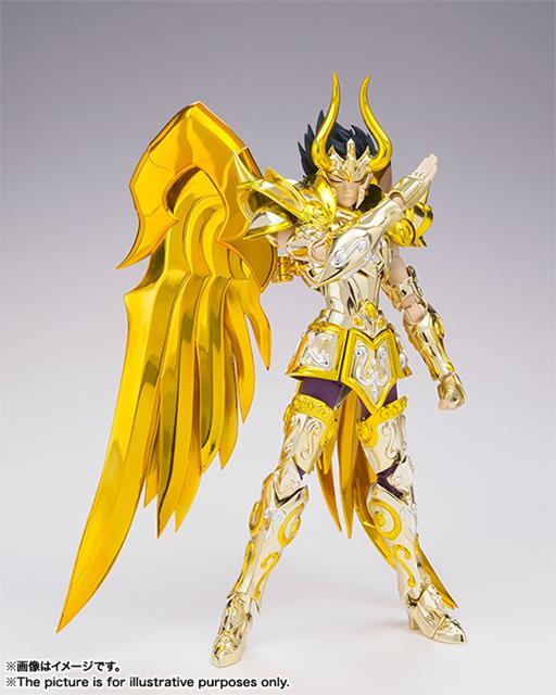 (Os Cavaleiros do Zodíaco) Saint Seiya SOG Capricorn Shura (Capricórnio) God Cloth Myth EX - Bandai