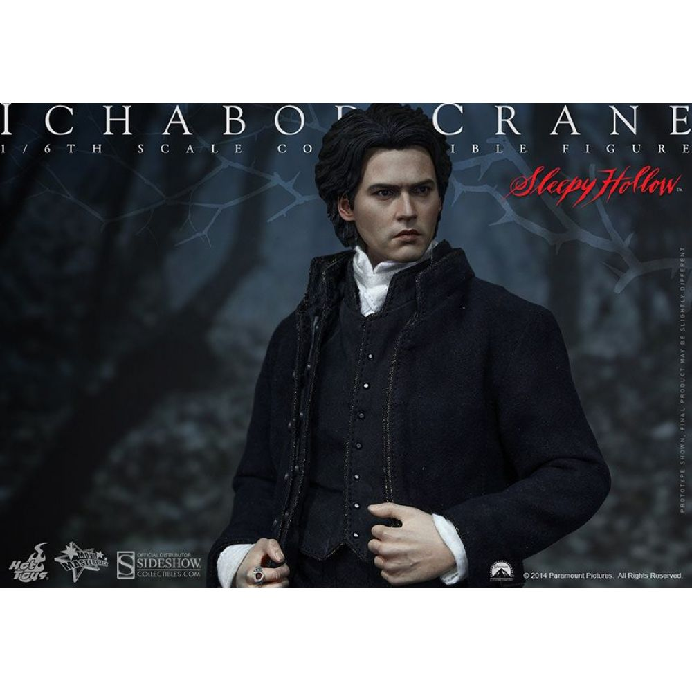 Boneco Ichabod Crane: A Lenda do Cavaleiro Sem Cabeça (Sleepy Hollow) Escala 1/6 - Hot Toys - CD