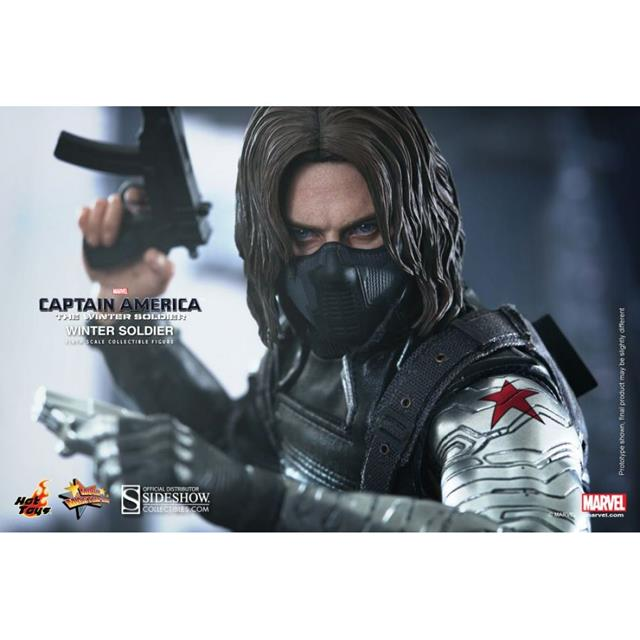 Captain America: The Winter Soldier: Soldado Invernal Escala 1/6 - Hot Toys