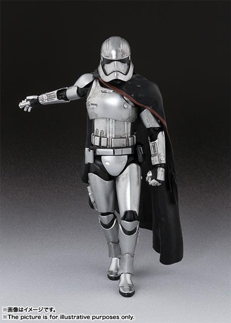Star Wars Captain Phasma S.H. Figuarts - Bandai  - Toyshow Colecionáveis