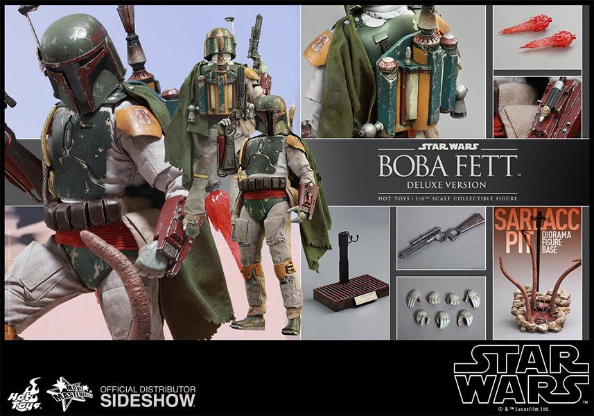 Star Wars Episode VI: Boba Fett Deluxe Escala 1/6 - Hot Toys