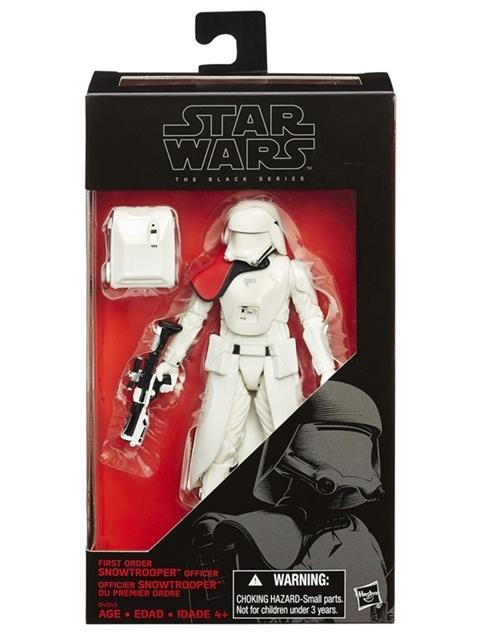 Star Wars Episódio VII The Black Series First Order Snowtrooper Officer - Hasbro  - Toyshow Colecionáveis