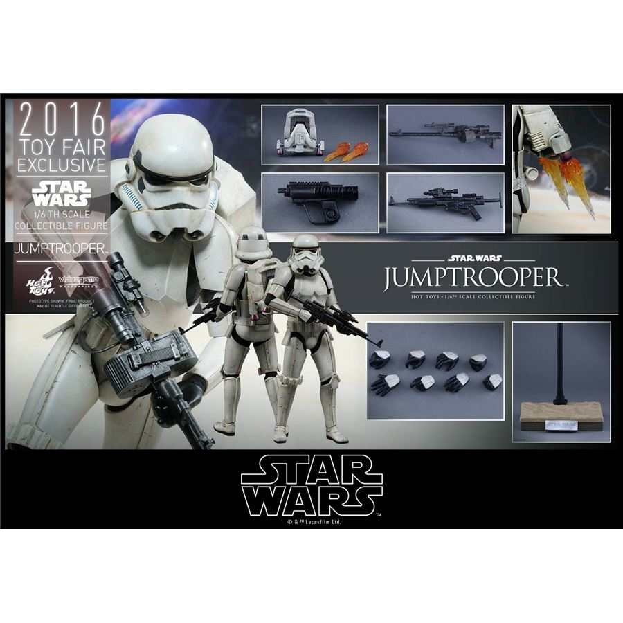 Star Wars Jumptrooper Exclusivo Escala 1/6 - Hot Toys