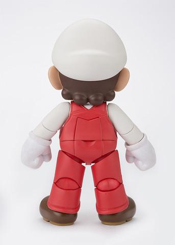Boneco Mario Fire: Super Mario Bros S.H Figuarts - Bandai