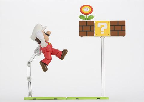 Super Mario Bros: Fire Mario S.H Figuarts - Bandai