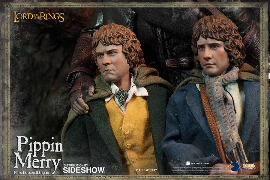 The Lord Of The Rings: Merry and Pippin Set Escala 1/6 - Asmus Toys  - Toyshow Colecionáveis