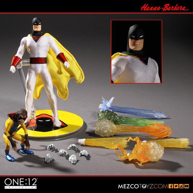 The One:12 Collective Space Ghost Escala 1/12 - Mezco