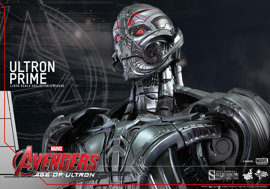 Age Of Ultron: Ultron Prime Escala 1/6 - Hot Toys