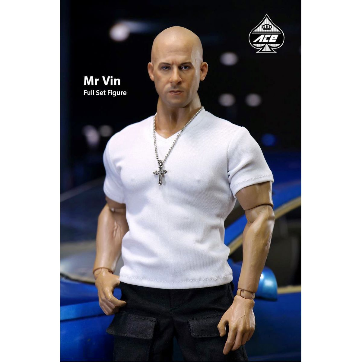 Velozes e Furiosos: Dom Toretto Escala 1/6 - Ace Toyz  - Toyshow Colecionáveis