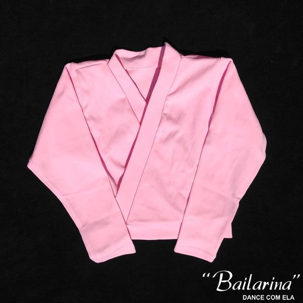 7052b08af5 Casaco de Helanca Infantil Bailarina - Dance com Ela