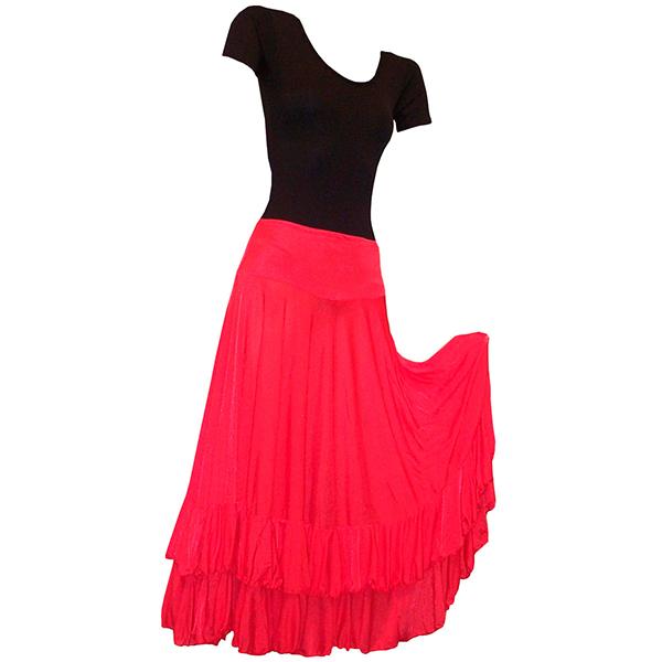 Saia Dança Flamenca (consulte tamanhos e cores)