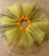 Tutu 2 cores ( amarelo e marrom )