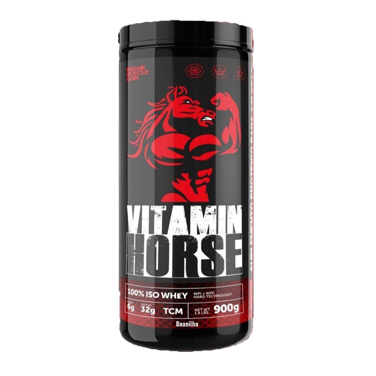 100% Iso Whey 900g - Vitamin Horse