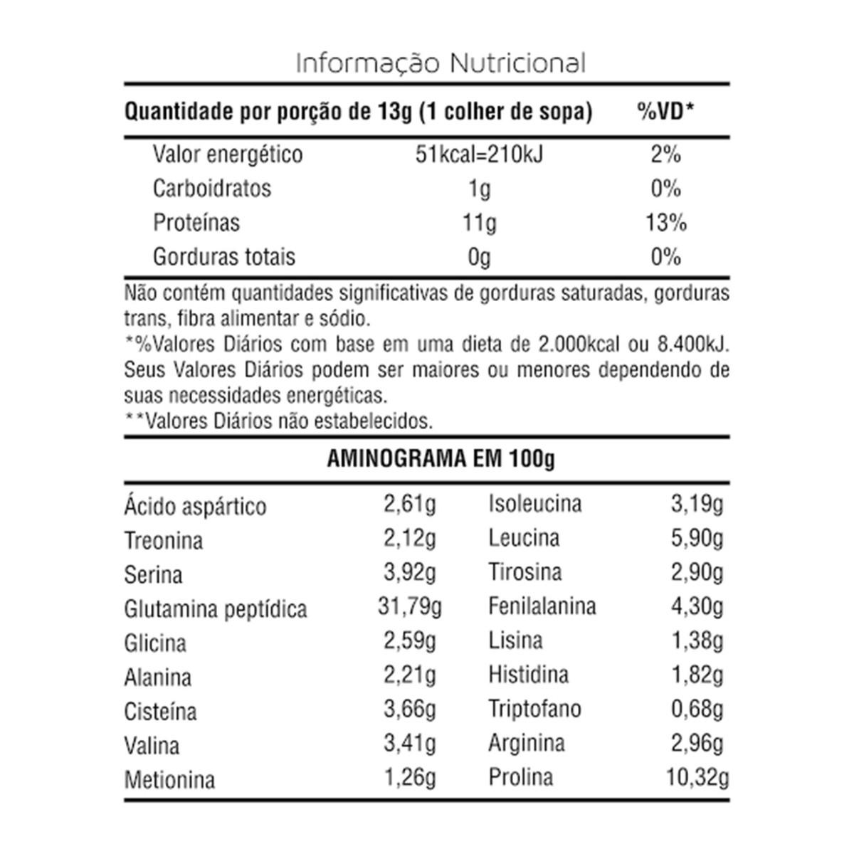 100% L-Glutamina Pura - 150g - Slim