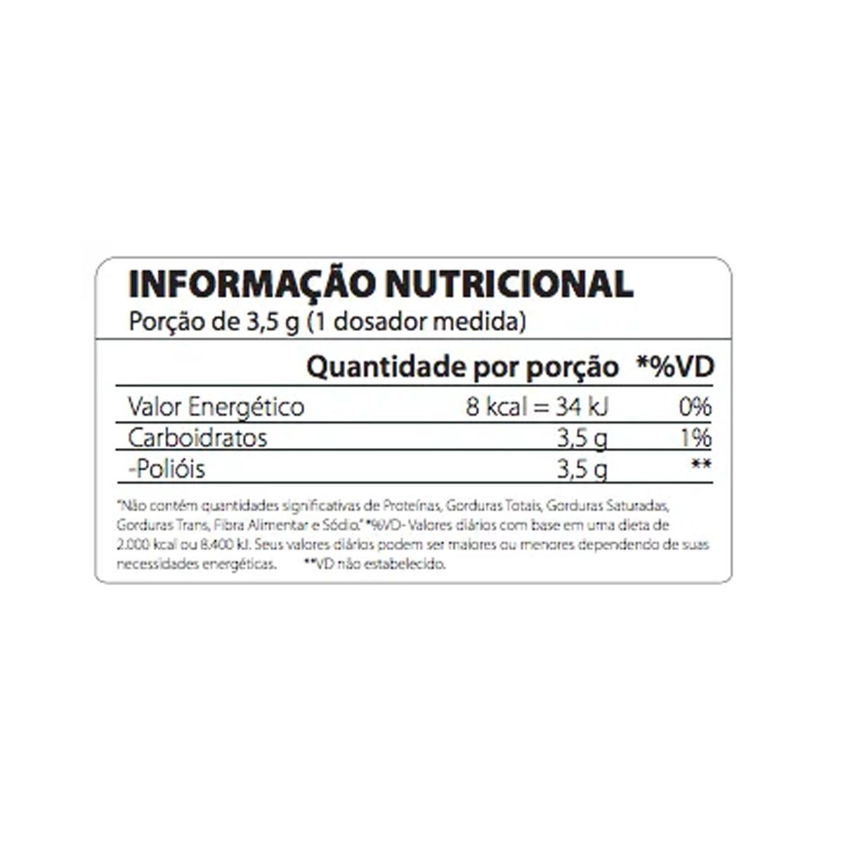 100% Natural Xylitol 300g - Atlhetica Nutrition